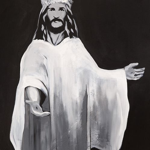 King Jesus (4.5ftx5.5ft)