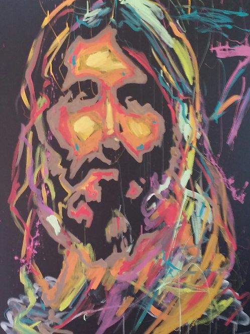 Celebration Jesus (4.5ft x 5.5ft)
