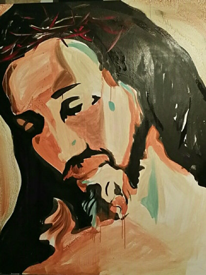 Jesus Painting (8x10) High Quality print