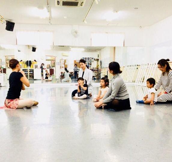 ベビーバレエ体験