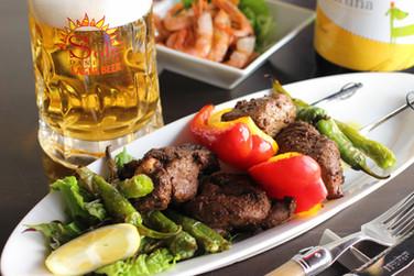 スパイシーなラム肉とお野菜のオーブン焼き ダニエルズソーレ