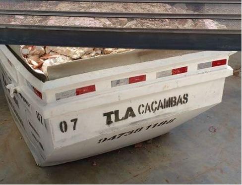 TLA Caçambas- Aluguel caçambas SP-4