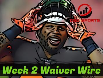 Waiver Wire & Week 2 Statistics Analysis