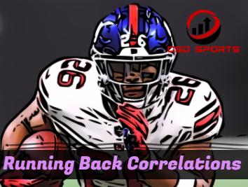 Running Back Correlation Analysis 2018
