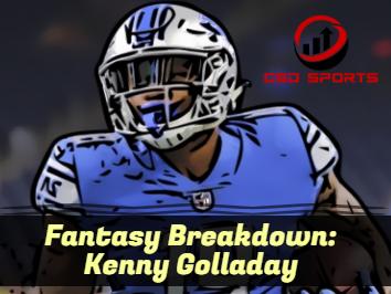 Fantasy Breakdown: Kenny Golladay