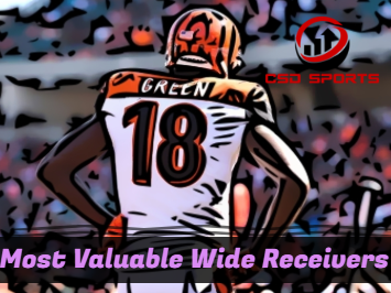 Most Valuable Wide Receivers