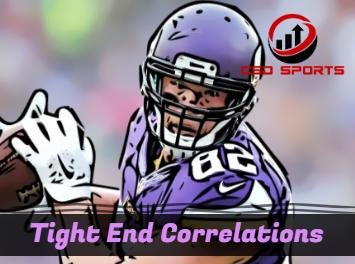 Tight End Correlation Analysis 2018