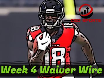 Waiver Wire & Week 4 Statistics Analysis