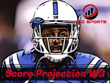 Score Projection & Risk Analysis Week 3