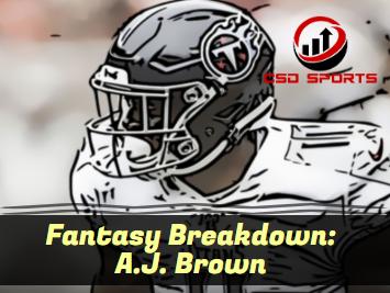 Fantasy Breakdown: A.J. Brown