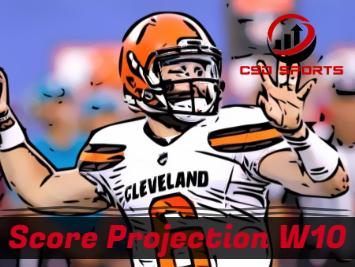 Score Projection & Risk Analysis Week 10
