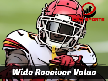 Wide Receiver Value 2019
