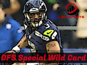 DFS Special Wild Card Weekend