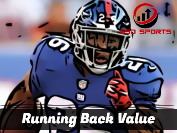 Running Back Value 2019