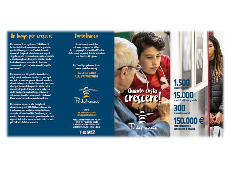 Brochure fundraising
