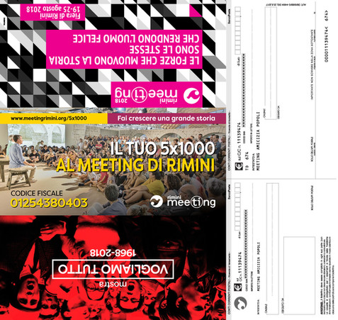 DM postale Meeting di Rimini