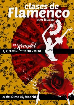 """Cartel """"Taller de Flamenco"""""""