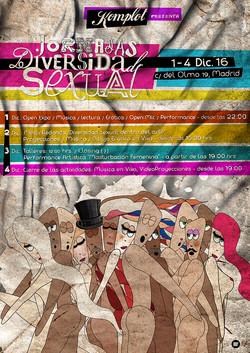 """Cartel """"Diversidad Sexual"""""""
