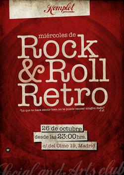 "Cartel ""Rock&Roll Retro"""