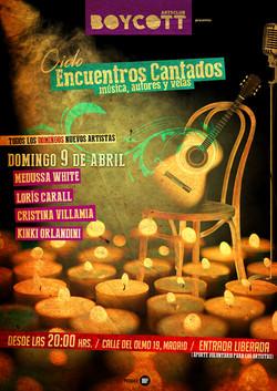 """Cartel Ciclo """"Encuentros Cantados"""""""