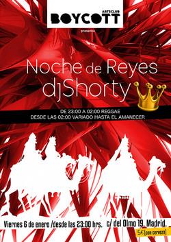 Cartel Noche de Reyes