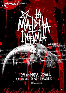 """Cartel """"La Maldita Infamia"""" concert"""