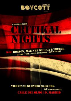Cartel Critikal Nights