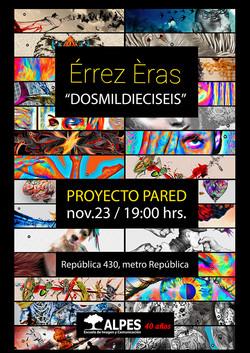 """Cartel """"Expo Érrez Èras"""""""