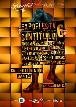 Cartel ExpoFiesta Sintítulo
