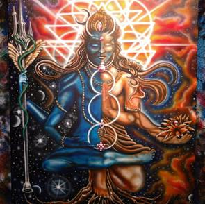 Custom Shiva Canvas