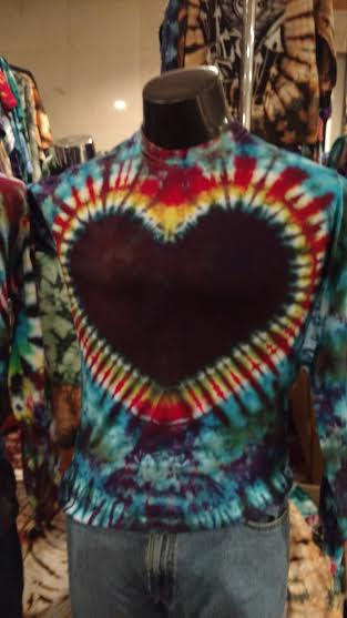 new dye heart shirt