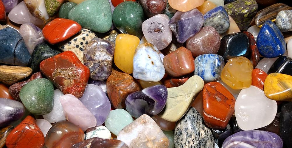 Assorted Tumbled Crystals