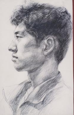 Portrait II - 1998 (Charcols)