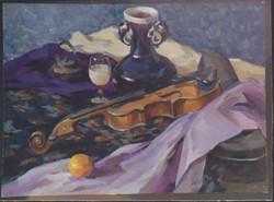 Still life II-2000 (Gouache)