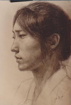 Portrait I - 1998 (Pencils)