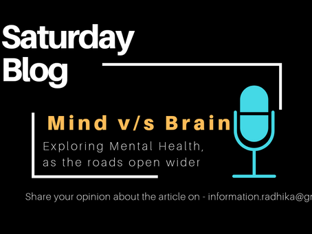 MIND V/S BRAIN - Exploring Mental Health, as the roads open wider