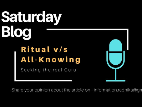 Ritual v/s All-Knowing