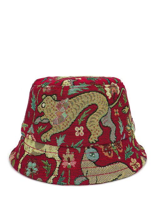 Animal tapestry bucket hat