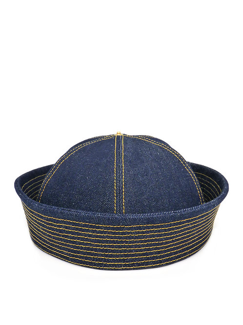 Indigo denim sailor