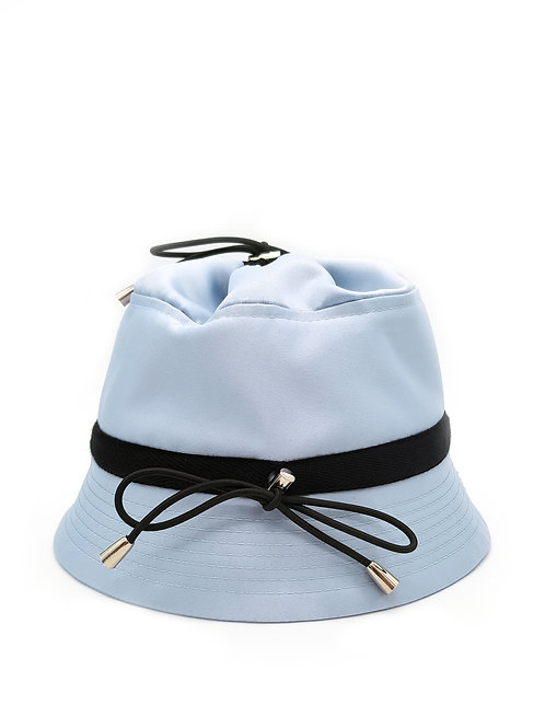 Baby blue bungee bucket