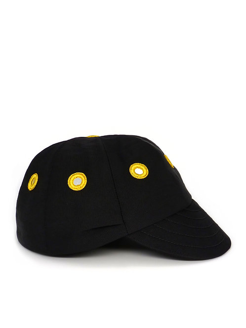 Mirror embellished cricket cap
