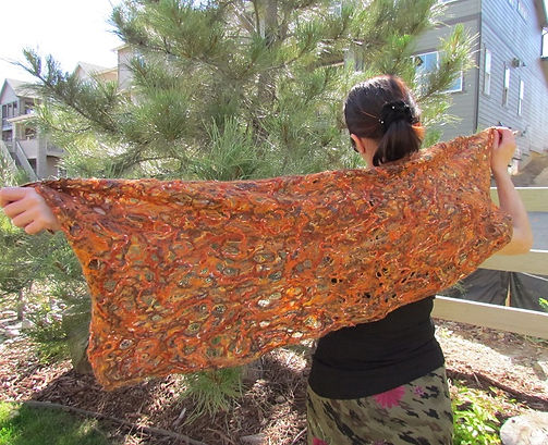 shawl lacy orange.JPG