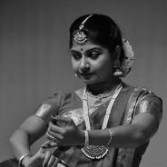 Performing Bharathanatyam