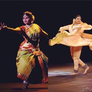 Dvimukhi - (two faces) a solo Bharathanatyam and Kathak performance by Seema