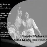 Vande Mataram - this land, our home