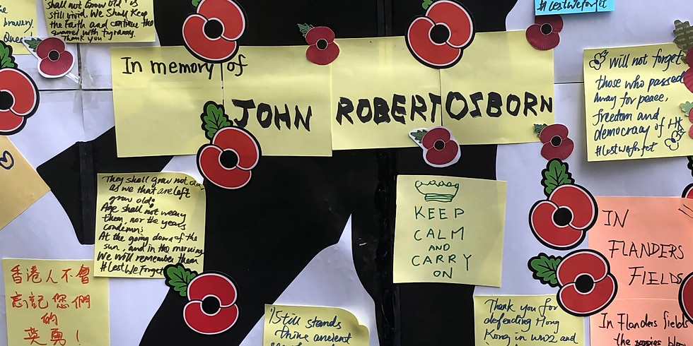 """Lennon Wall """"Lest We Forget"""""""