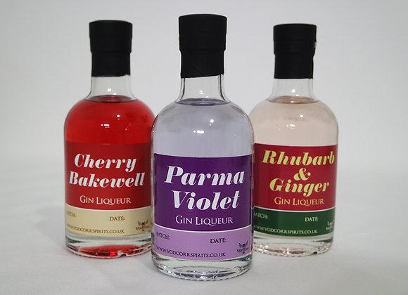 Gin Liqueur Triple Pack