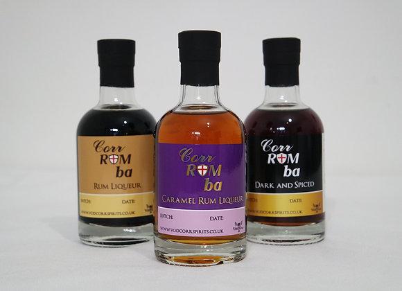 Rum Liqueur Triple Pack
