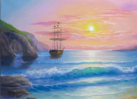 """Авторская работа """"Пиратская бухта"""""""