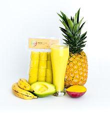 Aguacate, Mango, Banano y Piña